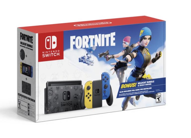 Nintendo Switch Fortnite Bundle!