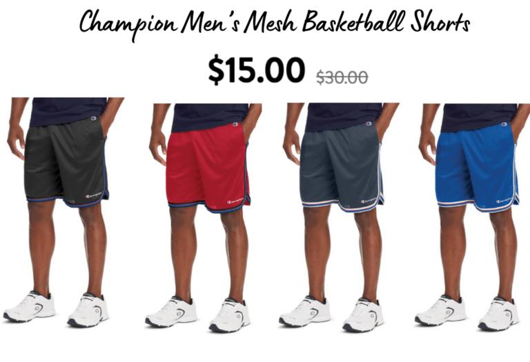 Champion Mens Shorts! 50% off!!