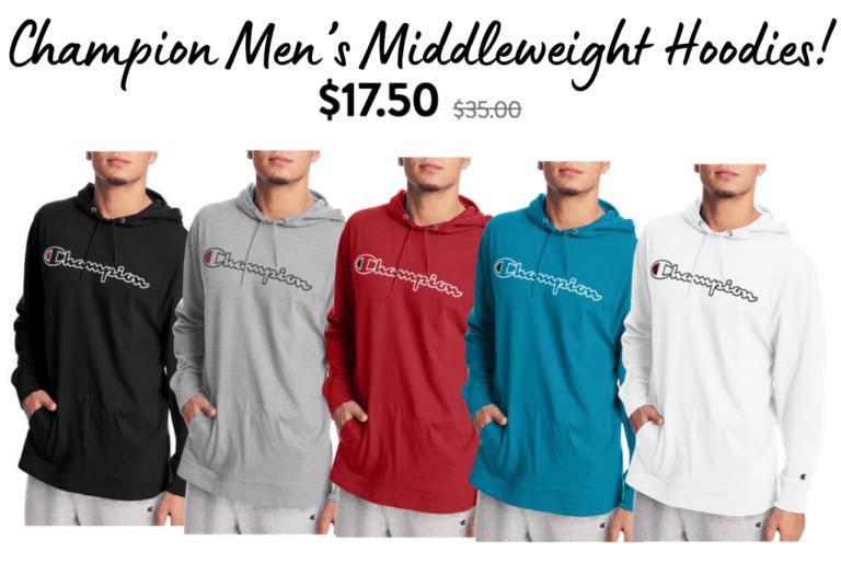 Champion Men's Hoodies! 50% off!!