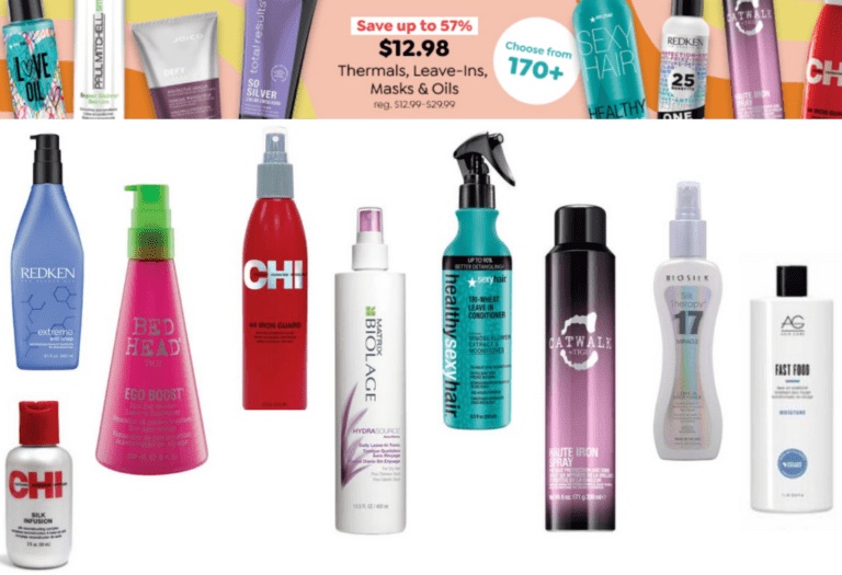 $12.98 Hair Care Products!!!