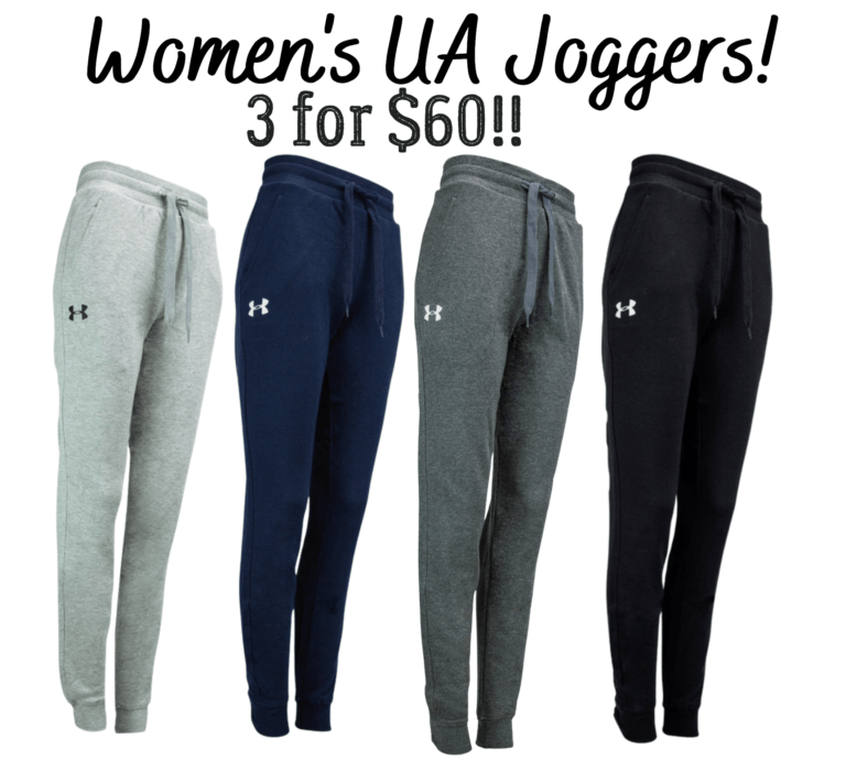 Women's UA Joggers! 3 for $60!!